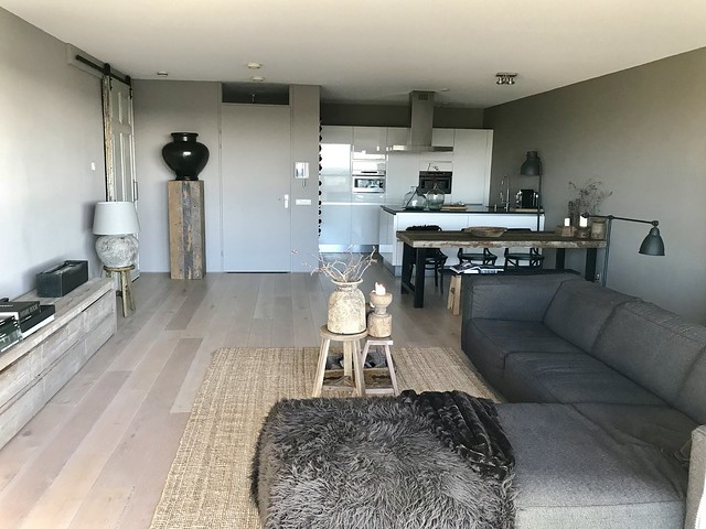 Woonkamer appartement