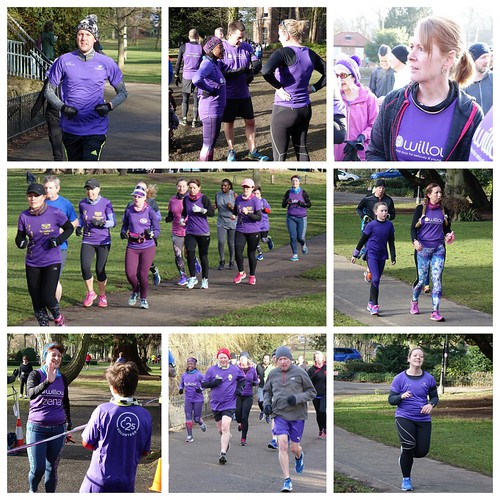 Event 147 The One With The Perfectly Purple Parkrunners