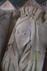 cadaver tomb: Katherine Denston, 1460s