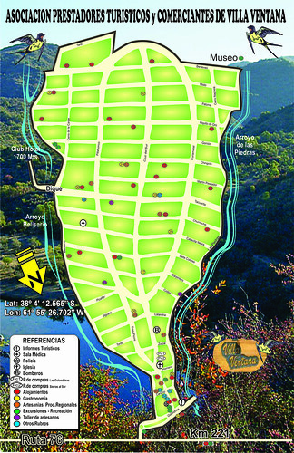 Villa Mapa frente