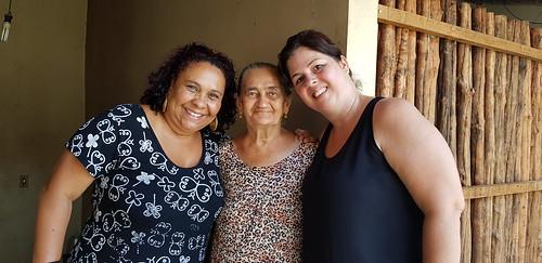 Dona Naninha do Amor Perfeito com Shirley e Helena