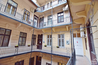 Friends Hostel Budapest Hungary (best hostel in Budapest) - Inside building