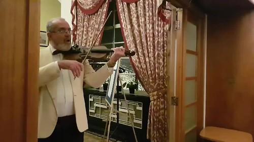 Video of Haggis ceremony