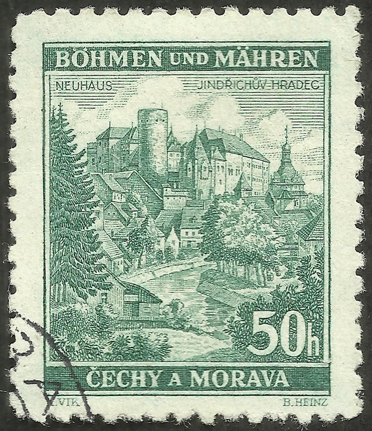 Bohemia and Moravia - Scott #40 (1940)