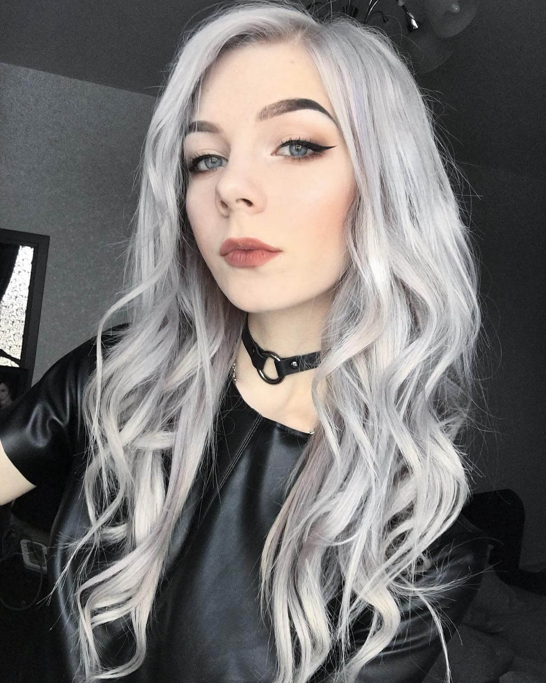 hair styles for seniors inspiring silver hair color ideas and styles 2018 fashionre 9591