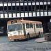 28-09-76 UDT455F Leyland Royal Tiger Cub leaves the Northern Bus Station.