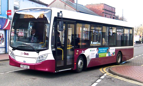 YY67 USC 'yourbus', Heanor. No 1451 'ADL' E20D / 'ADL' Enviro 200 /1 on Dennis Basford's railsroadsrunways.blogspot.co.uk'