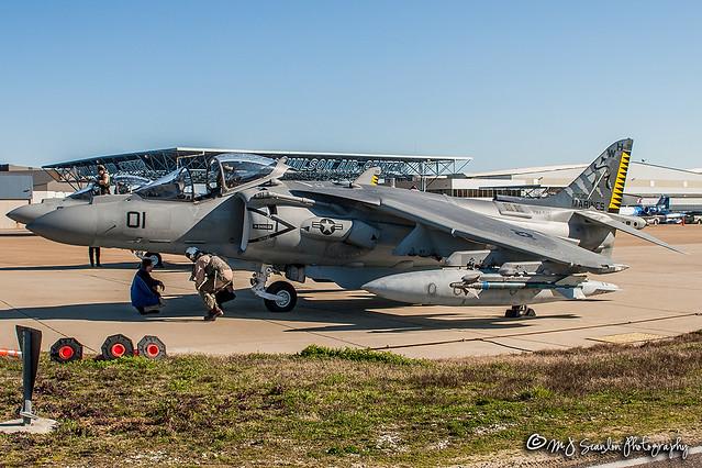 165307 USMC | McDonnell Douglas AV-8B+ Harrier II | Memphis International Airport