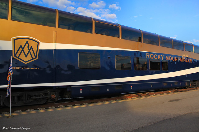 Rocky Mountaineer Tourist Train - Departing Vancouver 1st September 2012, British Columbia, Canada