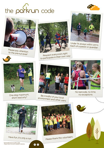 parkrun code of conduct