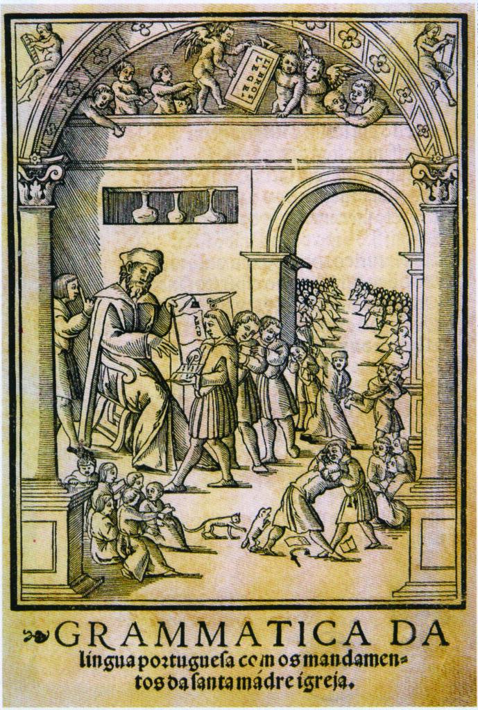 Frontispício-da-primeira-edição-da-Grammatica-da-Língua-Portuguesa-de-João-de-Barros-1540