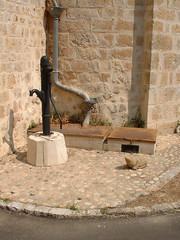 Beaumat - La fontaine de l'église - Photo of Saint-Germain-du-Bel-Air