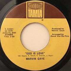 MARVIN GAYE:WHAT'S GOING ON(LABEL SIDE-B)