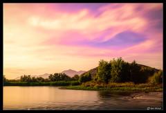 Sunrise on the Gila River