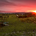Sunset over Blackburn