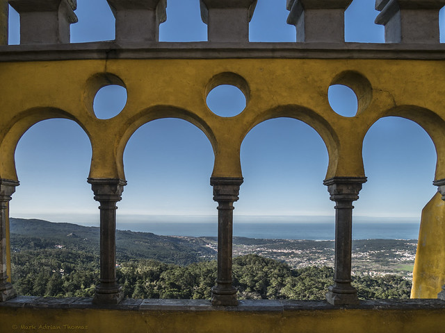Pena Palace View, Olympus PEN-F, Lumix G Vario 12-32mm F3.5-5.6 Asph. Mega OIS