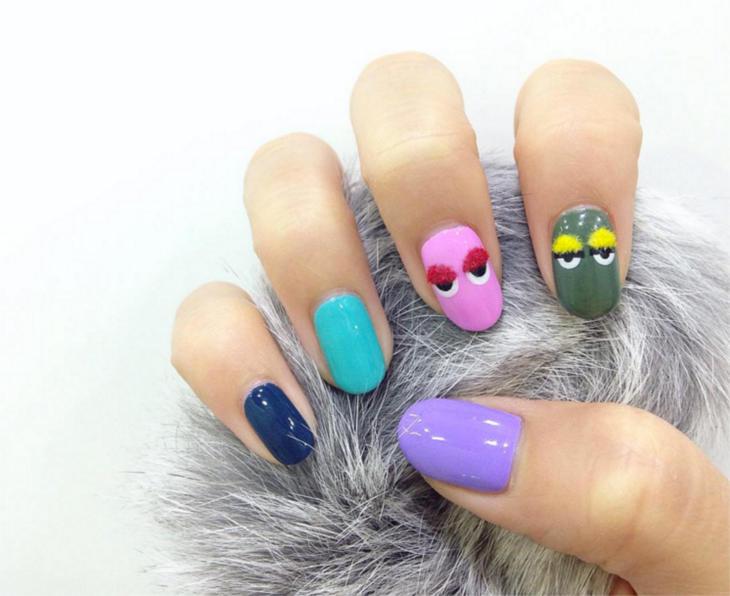 24+ Stylish Viral Nail Art Trends Design Ideas - Nails C