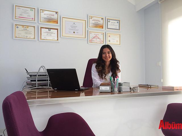 Lazer Göz Tıp Merkezi Diyetisyen Büşra Şenol