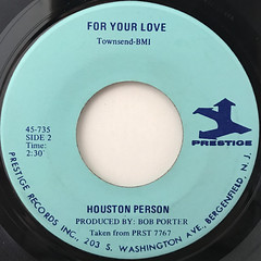 HOUSTON PERSON:WADIN(LABEL SIDE-B)
