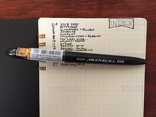 bujo pilot pen | by thepapergoddess