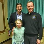 Diocese of Little Rock's Father Erik Pohlmeier, Sophia, & Paul - Little Rock, Arkansas