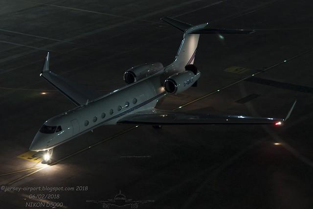 G-MRLX Gulfstream G550