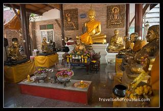 Veel oude monniken