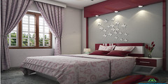 Charming Bedroom Interior Decorators in Kottayam