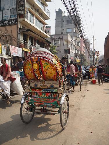 Rickshaw Driver - Dhaka, Bangladesh