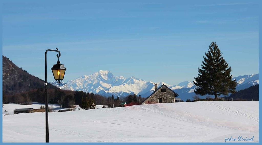 Mont Blanc (vu du Désert)