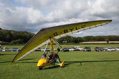 G-BYLC Solar Wings Pegasus [7528] Popham 081017