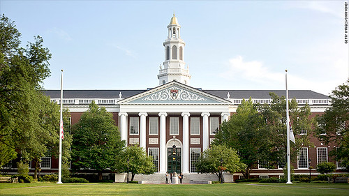 Baker Business Library at Harvard University