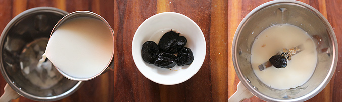 How to make prunes smoothie recipe - Step1