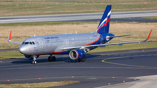 Aeroflot Airbus A320-2 VP-BKP
