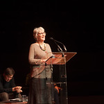 Actor Anne Kidd reads from 'Tuscany by Chance', an essay by Muriel Spark | © Alan McCredie