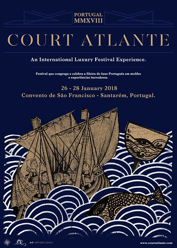 Court Atlante Poster