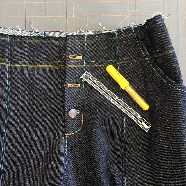 Lander Pant from True Bias in Denim