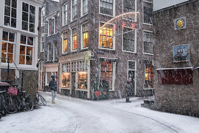 Getting warm at Amsterdam's cosiest cafe