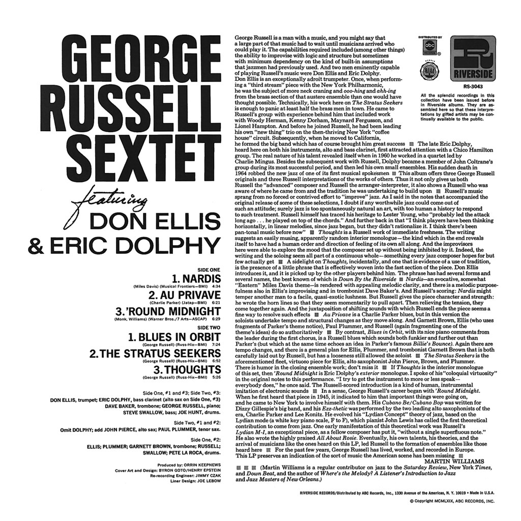 George Russell - 1 2 3 4 5 6extet