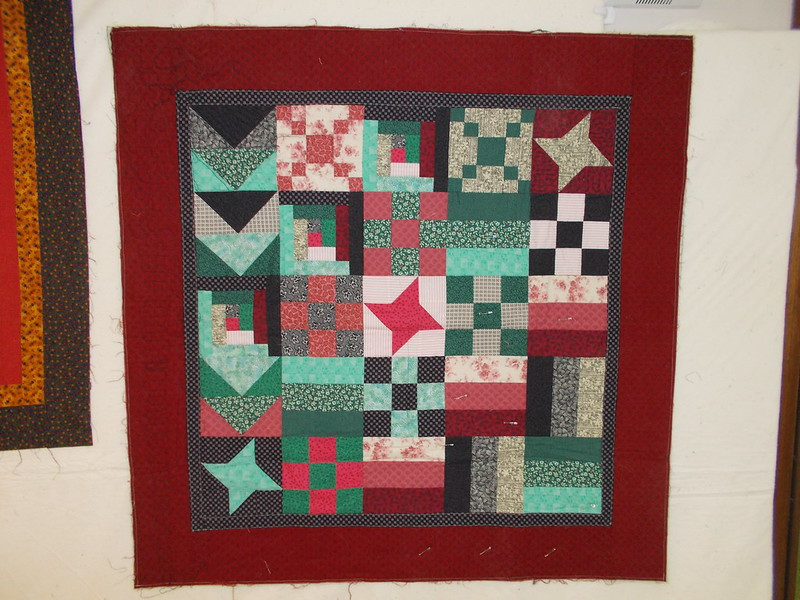 My first quilt by Sandi Walton at Piecemeal Quilts