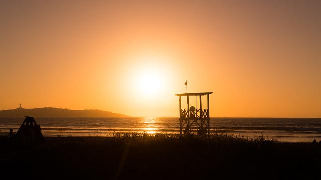 Sonnenuntergang in La Serena