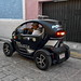 The terrific little electric car of the Campeche police por Chemose