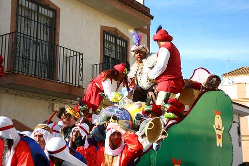 Cabalgata de Reyes Magos A.V. Doctor Fleming