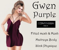 Gwen Purple - GIFT exclusive for Avangardista group by Continuum Fashion