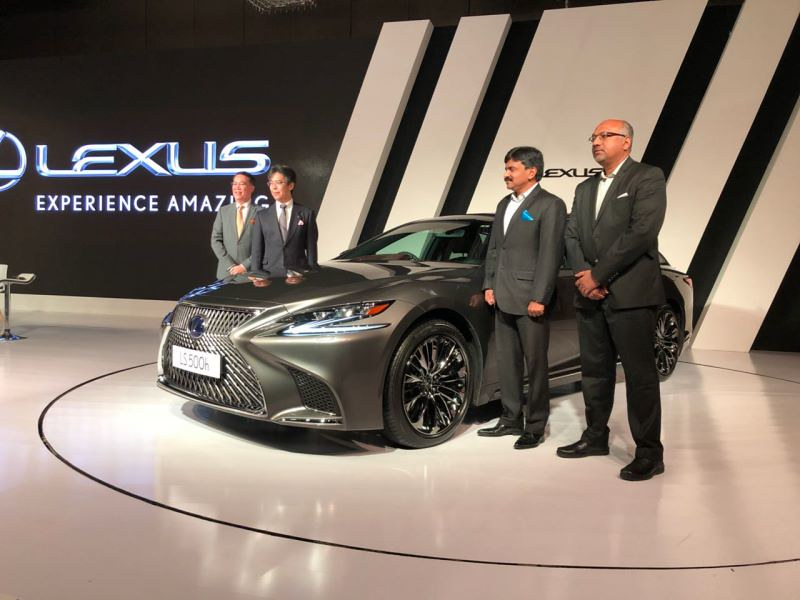 Lexus LS Launch