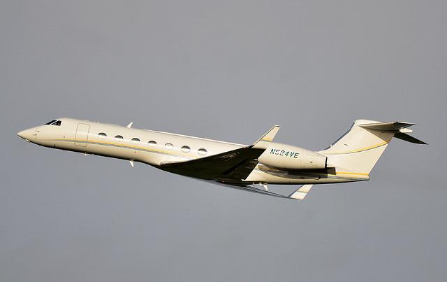 G550 N524VE Cardiff 170118