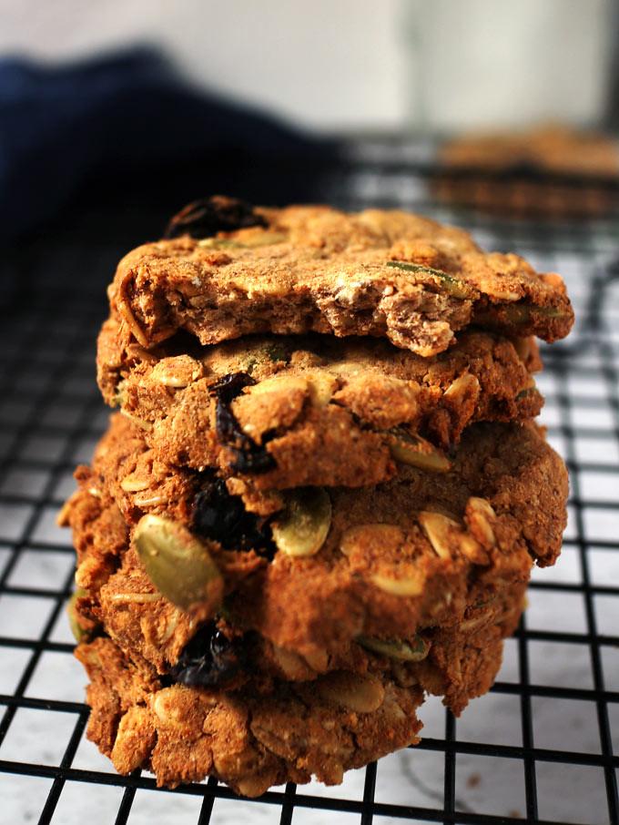 全素豆渣燕麥餅乾 vegan-okara-oatmeal-cookies (8)