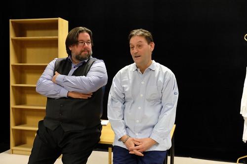 Frippe Pettersson och John Hedman