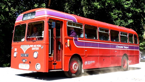 433 MDT 'Doncaster Transport' No. 33. Leyland Tiger Cub PSUC1/11 / Roe on 'Dennis Basford's railsroadsrunways.blogspot.co.uk'