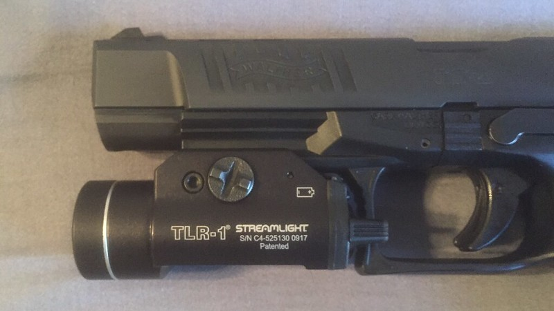 Streamlight TLR 1 Second Slot Solution for PPQ rail (might